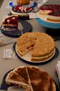Kuchenspenden beim Sommerfest 2014